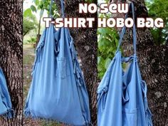 In this tutorial Vanessa of TheCraftyGemini channel teaches you how to make an environmentally friendly hobo bag.  All you need is a t-shirt and a pair of scissors and about 15 minutes. This No Sew T-shirt Hobo Bag is perfect for just about any occasion--- the beach, picnics, trips to the park, groceries, etc.  The size of the finished bag depen...