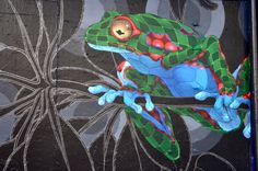 San Francisco Mural Arts | Jet Martinez | Bosque de Alebrijes Location: 1301 Haight St, Haight-Ashbury