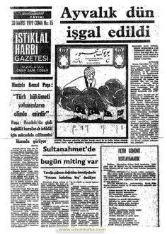 istiklal harbi gazetesi 30 mayıs 1919