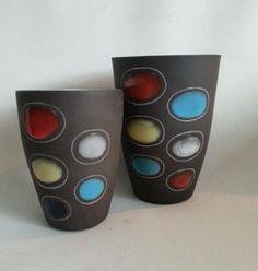 Jaap Ravelli, 'colorite' vases