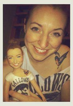 Personalized needle felted doll by FforFelt on Etsy Wet Felting, Needle Felting, Homemade Dolls, Wool Art, Felt Brooch, Felt Dolls, Soft Sculpture, Felt Art, Felt Animals