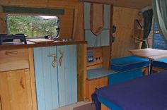 Toyota Hiace campervan conversion