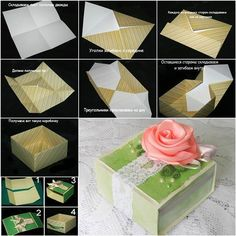How to DIY Origami Paper Gift Box | iCreativeIdeas.com Like Us on Facebook ==> https://www.facebook.com/icreativeideas