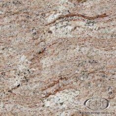 White Chocolate Granite  (Kitchen-Design-Ideas.org)