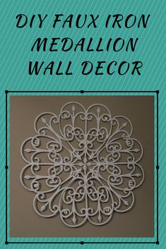 Create this realistic looking faux iron wall decor with this complete tutorial. Dollar Store Hacks, Dollar Tree Store, Dollar Stores, Dollar Tree Decor, Dollar Tree Crafts, Iron Wall Decor, Diy Wall Decor, Bedroom Decor, Hanger Crafts