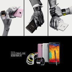 #GalaxyNote3 e #SamsungGear: tecnologia da indossare! Scegli il tuo stile! #Design #Fashion #DesignYourLife