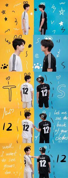 Bright Wallpaper, Boys Wallpaper, Couple Wallpaper, Thailand Wallpaper, Manhwa, Pretty Litte Liars, Boyfriend Photos, Gay Aesthetic, Bright Pictures
