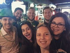 Good times with good people. #StPatricksDay