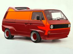 VW Transporter T3 (Vanagon) would so make a good battle tram!