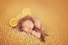 Baby Boy Hat NEWBORN LION Cub Hat CROCHET by CrochetMeSomethin, $14.99