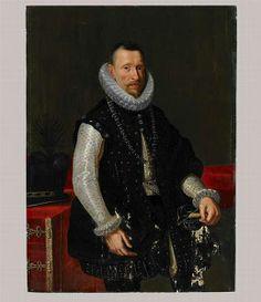 ALBERT VII, ARCHIDUC D'AUTRICHE, VICE-ROI DES PAYS-BAS (1559-1621) ; DIT AUTREFOIS AMBROISE, MARQUIS DE SPINOLA. anonyme