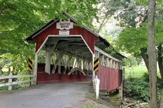 Shaffer's Covered Bridge - Somerset County, PA Where we were married Jan 7, 2000
