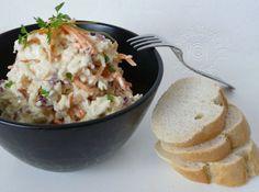 Fotorecept: Karfiolový šalát Y Recipe, Food Dishes, Potato Salad, Ale, Grains, Salads, Potatoes, Cooking Recipes, Ethnic Recipes