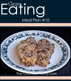 Clean Eating Meal Plan #10