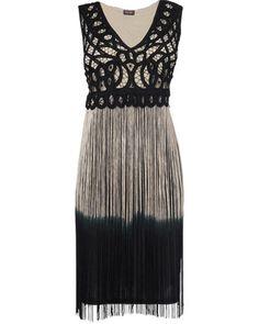 Party Dress - Fay Fringed Dress #tassels