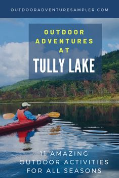 Tully Lake in Royalston, Massachusetts is a 1300 acre recreation area with awesome adventures for every outdoor enthusiast. #Hiking, #paddling, swimming, #fishing, and #camping are popular. But what about waterfall watching, mountain biking, #disc golf, #birdwatching, #geocaching, and winter adventures as well? #TullyLake