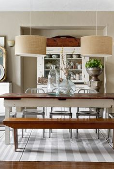 Joanna Madden Dining Room   Rikky Snyder Photography   Style Me Pretty Living   Home Tour   Vintage