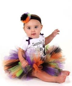Since lil Brooklyn is a Halloween baby I only find this right, I'm going to learn how to make it & make her one!