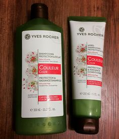 Mervia's World: Yves Rocher Renk Koruyucu Şampuan ve Saç Kremi | M...