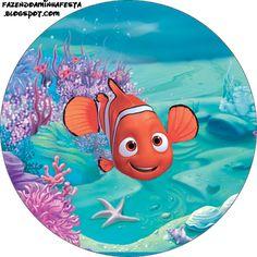 Nemo Cake, Oh My Fiesta, Looney Tunes Cartoons, Minions, Cartoon Pics, Disney Drawings, Dory, Disney Art, Birthday Parties
