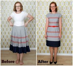 Image result for refashioned clothes before and after