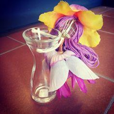 vasetto per fiori con Fata