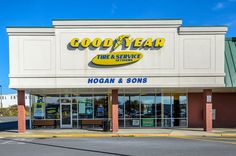 Exterior of the Hogan & Sons Tire and Auto shop in Winchester, VA. Visit www.hoganandsonsinc.com