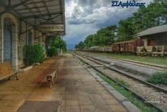 Railroad Tracks, Sidewalk, Side Walkway, Walkway, Walkways, Train Tracks, Pavement