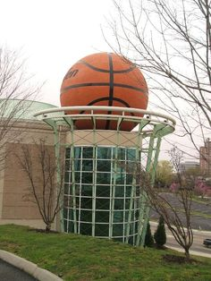 Giant Basket Ball - Knoxville, Tennessee