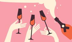 The 20 Best Rosé Wines of 2019 picked by over 36 million Vivino users surveyed to find their favorite rose wine. See the top 20 best rosé wines. Typography Sketchbooks, Best Rose Wine, Wine Tasting Events, Wine Mom, Design Art, Graphic Design, Ad Art, Retro, Illustration Art