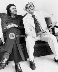 Rómulo Betancourt junto a Felipe González en su visita a Venezuela.  (ENIO PERDOMO / ARCHIVO EL NACIONAL)
