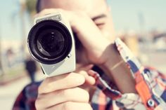 young man filming with a Super 8 camera stock photo © Juan Moyano Mangas (nito) ( Content Marketing, Affiliate Marketing, Online Marketing, Digital Marketing, Marketing Videos, Marketing Tools, Business Marketing, Branding, Getting To Know You