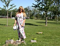 relaxing i the park with a Walk Trendy maxi