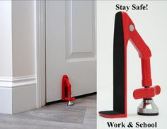 Amazon.com: VAS Emergency School & Workplace Violence Protection Device- School, Office, Travel & Home: Office Products