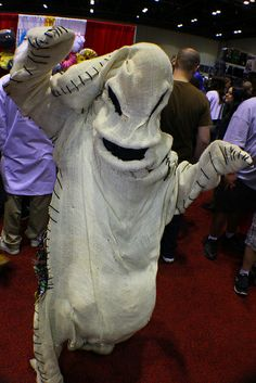 Oogie! Cool costume idea!  Disney cosplay costumes at MegaCon 2014 by insidethemagic, via Flickr