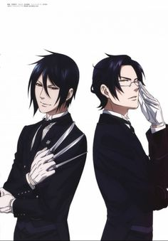 Black Butler Sebastian-Claude