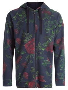 MOLETOM MASCULINO OVER USED ROSES - PRETO