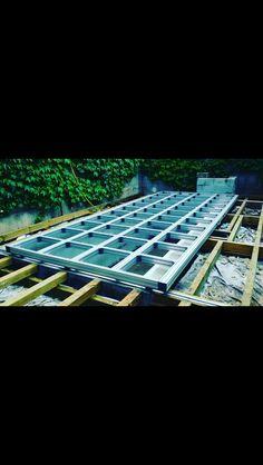 Construction terrasse mobile Couverture de piscine amovible ...
