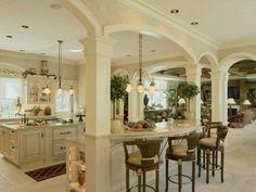 Interesting kitchen archways