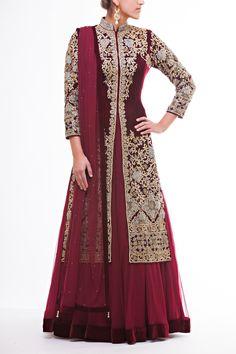 Fashion: Indian Bridal Lacha with Photo