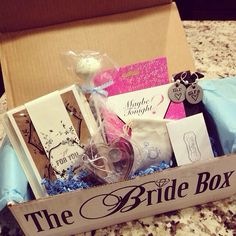 The Bride Box January 2014 edition! - the best wedding gift to give your favorite bride to be! subscriptionbox #weddinggifts #bridegiftideas #engagementgift www.thebridebox.com $35.00