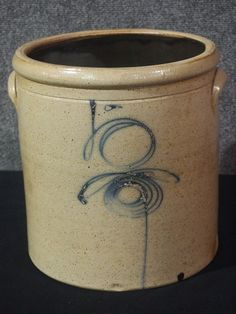 Antique Crock Got A Really Good Deal On One Just Like This From Auction