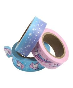 Another great find on #zulily! Unicorn Washi Tape - Set of Three #zulilyfinds
