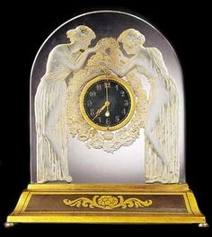 THE SPLENDORS OF LALIQUE ART. Clocks ~ Blog of an Art Admirer