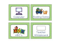 A Teeny Tiny Teacher: Fun Friday Labels Freebie Preschool Classroom Labels, Classroom Behavior, Classroom Ideas, Classroom Organization, Classroom Management, Class Labels, Reading Games, School Daze, Good Friday