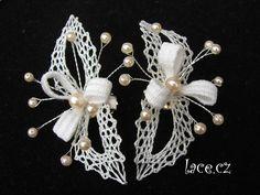 Wedding Lace, Lace Weddings, Lace Jewelry, Jewellery, Lace Heart, Lace Patterns, Bobbin Lace, Lace Detail, Butterfly