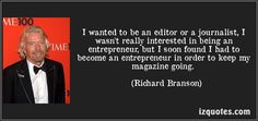 Richard Branson quotes - Well, I think that there's a very thin dividing line between success and failure. And I think if you start a business without financial backing, you're likely to go the wrong side of that dividing line. Famous Quotes, Me Quotes, Motivational Quotes, Inspirational Quotes, Positive People, Happy People, Richard Branson Quotes, Gut Feeling, Success And Failure