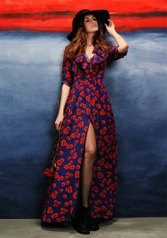 Sustainable Style Icon Livia Firth in Floral Dress by Beautiful Soul