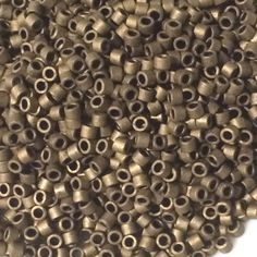Matte Metallic Bronze Miyuki Delica Seed Beads DB0322 Size 11 Glass Miyuki Japanese Beadloom Supplies Beading Beadweaving Solid Best by PuebloBeadandSupply on Etsy https://www.etsy.com/listing/217626463/matte-metallic-bronze-miyuki-delica-seed