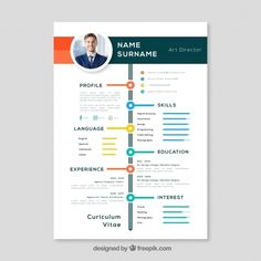Show the recruiters that you keep up with the latest technology by choosing our modern cv example. It is always easy  to fill out. Save effort. If you are not satisfied with the arrangement, you can modify it to best suit your particular. Resume Design Template, Creative Resume Templates, Cv Template, Basic Resume Examples, Professional Resume Examples, Simple Resume, Cv Online, Online Resume, Curriculum Vitae Template Free